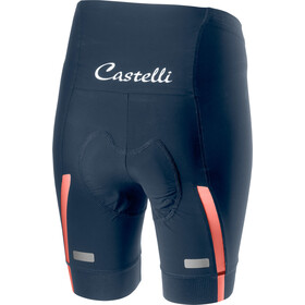 Castelli Velocissima Shorts Damen dark/steel blue/salmon
